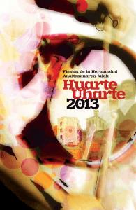 Cartel Fiestas Huarte 2013