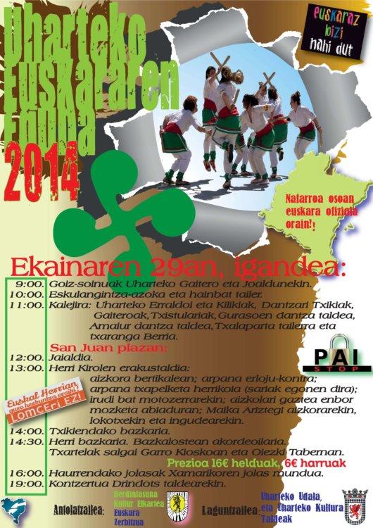 Uharteko eguna 2014