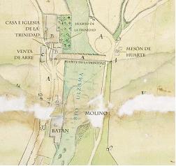 Mapa Trinidad de Arre. Pista 3