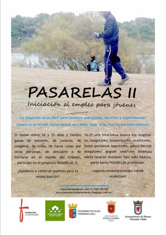 cartel Pasarelas