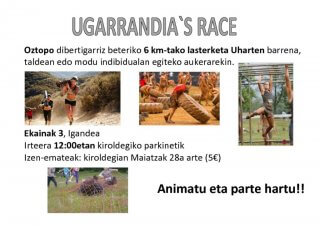 thumbnail of Cartel Ugarrandia´s Race_ Euskera